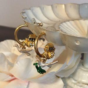 Joan Rivers Noah's Ark Collection Dove Earrings